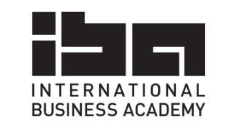 IBA - International Business Academy Logo