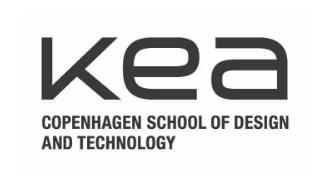 KEA - Copenhagen School of Design and Technology Logo