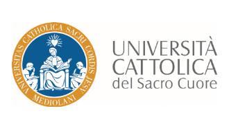 Universita Cattolica del Sacro Cuore Logo