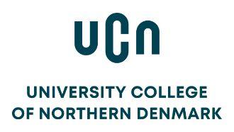 UCN - University College of Northern Denmark Logo